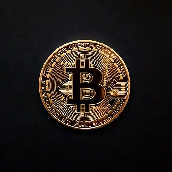 Souvenir munt Crytocurrencies - Bitcoin Litecoin en Ethereum - Set van 3 stuks