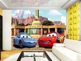 Dutch Wallcoverings Fotobehang Cars McQueen & Sally,  4-d