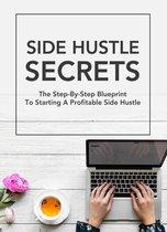 Boek cover Side Hustle Secrets van James Smith