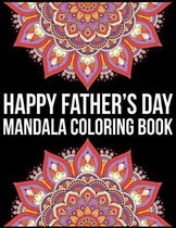 Happy Father's Day Mandala Coloring Book