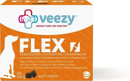 Veezy Flex Softchews - Hondengewrichten - Rund 249 g 28 stuks