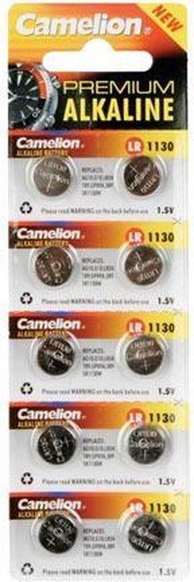Camelion Horlogebatterij 1.5V 68Mah Lr1130/Ag10 (10 St./Bl)
