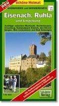 Eisenach, Ruhla und Umgebung 1 : 35 000. Radwander-und Wanderkarte