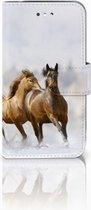 Samsung Galaxy S4 i9500 Uniek Ontworpen Hoesje Paarden