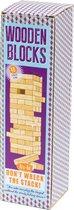 Houten Stapeltoren - stapelspel