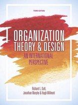 Boek cover Organization Theory and Design van Jonathan Murphy