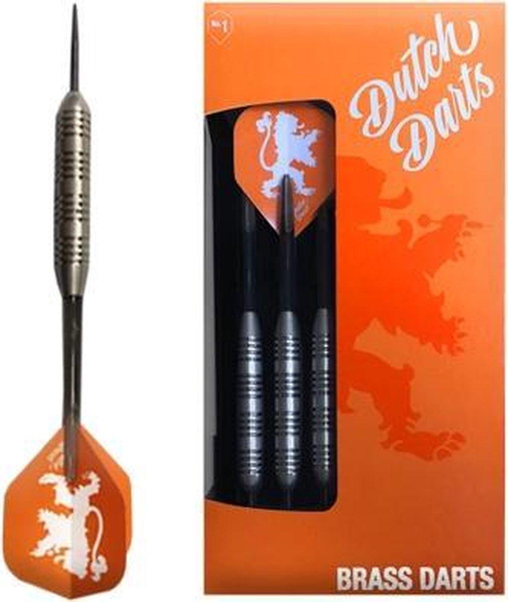 Dutch Darts Nickel Silver 1 - Dartpijl 23 gram - Dutch Darts