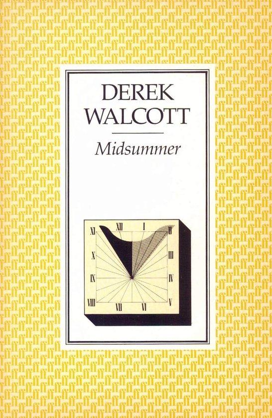 Boek cover Midsummer van Derek Walcott Estate (Onbekend)