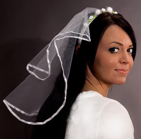 Diadeem met bruidssluier