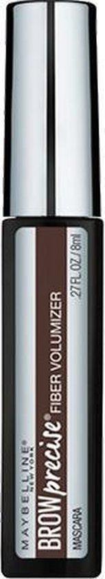 Maybelline - Brow Precise Fiber Filler - 06 Deep Brown - Wenkbrauwmascara