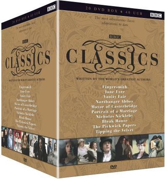 BBC Classics - Written by the World's Greatest Authors - 20 DVD Box