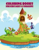 Coloring Books For Kids Ages 4-8 Dragons