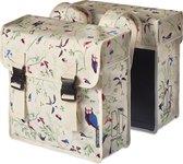 Basil Wanderlust Double Bag - Dubbele Fietstas - 35 Liter - Ivory Wit