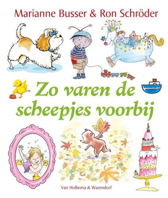 Cover van het boek 'Zo varen de scheepjes voorbij'