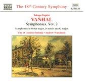 Watkinson/City Of London Sinfo - Vanhal: Symphonies Vol. 2
