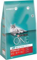 Purina ONE Sterilised Cat - Rund/Tarwe - Kattenvoe