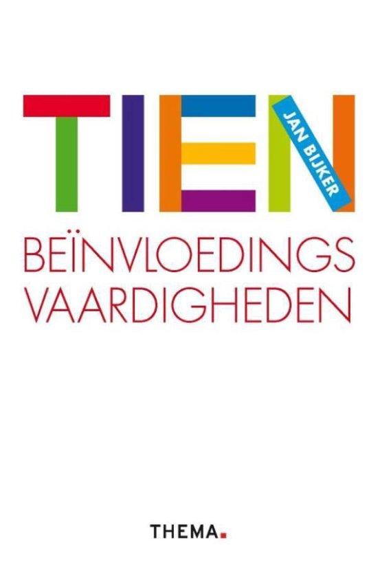 Cover van het boek '10 Beinvloedingsvaardigheden / druk Heruitgave' van J. Bijker