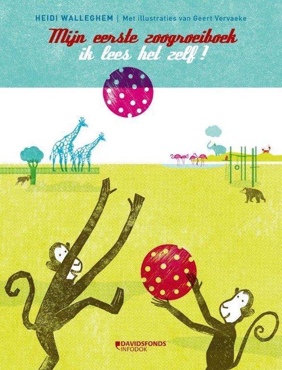 Groeiboek - Mijn eerste groeiboek: in de zoo - Heidi Walleghem | Fthsonline.com
