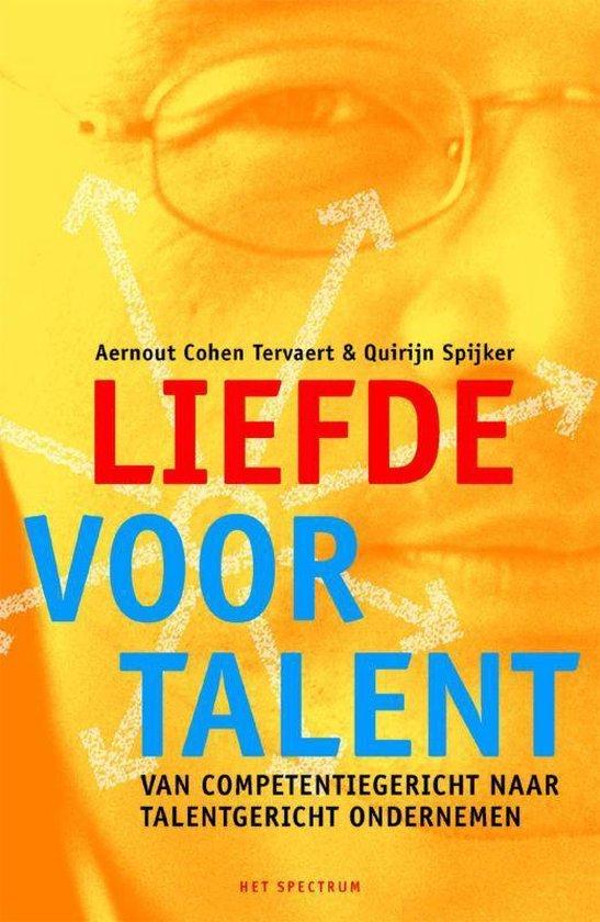 Liefde voor talent - Aernout Cohen tervaert |