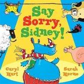 Omslag Say Sorry Sidney