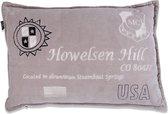 In The Mood Howelsen Fluweel - Sierkussen - 40x60 cm - Kiezel