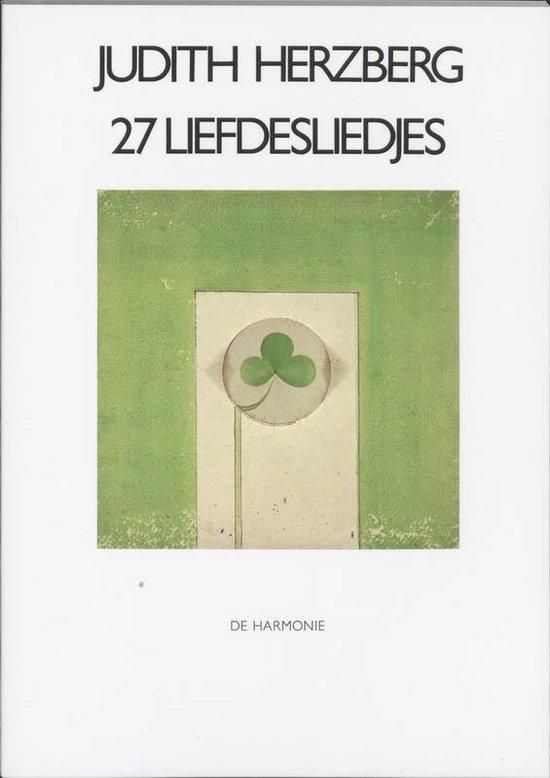 27 liefdesliedjes - Judith Herzberg pdf epub