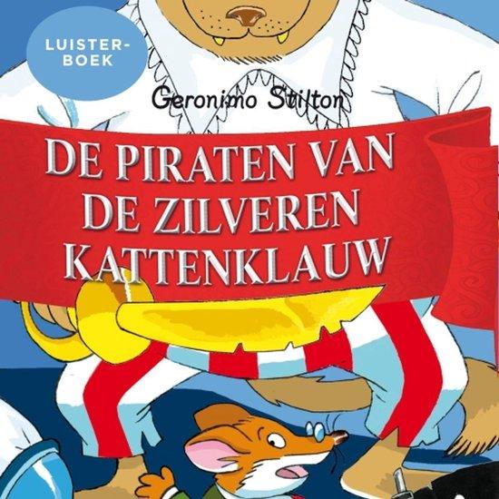 Boek cover De piraten van de zilveren kattenklauw van Geronimo Stilton (Onbekend)