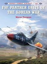 Boek cover F9F Panther Units of the Korean War van Mr Warren Thompson