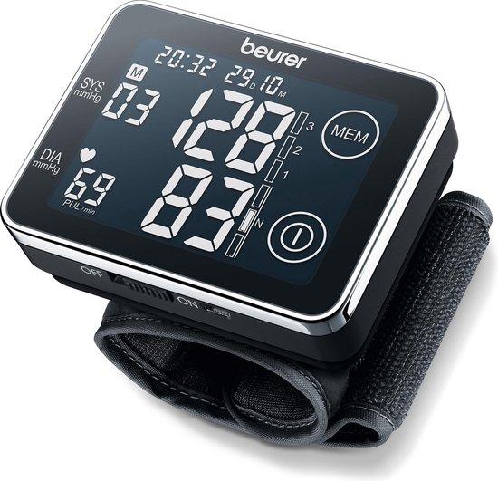 Beurer BC58 - Bloeddrukmeter pols - USB data-overdracht - XL touch display