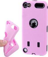 iPod Touch 5G - 6G - Armor-Case Bescherm-Hoes Cover Skin - Roze