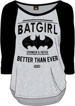 Batgirl - Better Than Ever Girls Vrouwen T-Shirt - Zwart - L