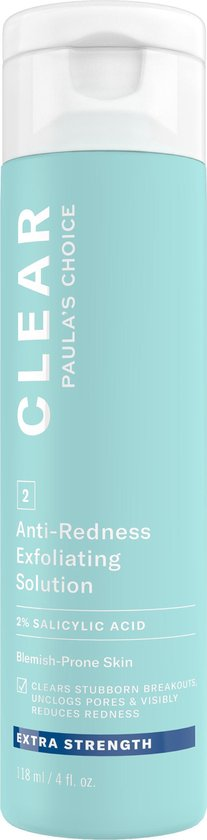 Paula's Choice Clear Extra Strength 2% BHA Exfoliant met Salicylzuur - 118 ml