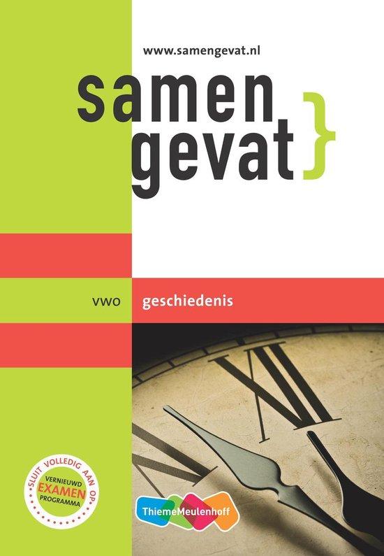 Boek cover Samengevat vwo geschiedenis van Yvonne Bouw (Paperback)