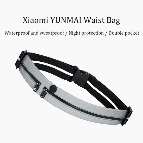 Yunmai fitness heuptas - zwart - reflecterende strook - waterbestendig