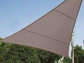 Waterafstotend zonnedoek Driehoek 5 x 5 x 5 m Taupe 90 % tegen UV-stralen