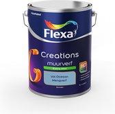 Flexa Creations Muurverf - Extra Mat - Mengkleuren Collectie - Vol Oceaan - 5 liter