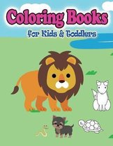 Coloring Books for Kids & Toddlers