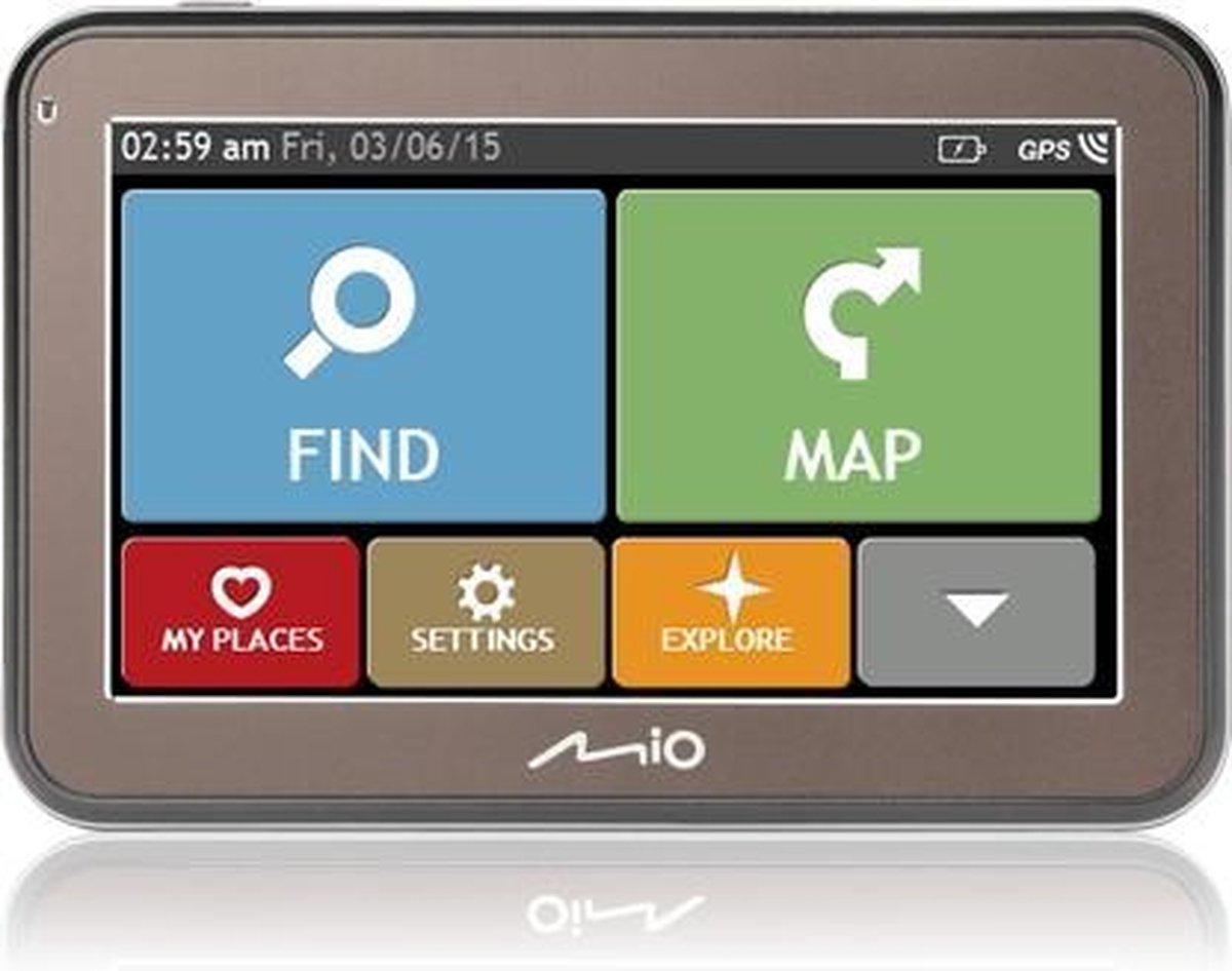 Mio Spirit 5670 LM navigator 10,9 cm (4.3'') Touchscreen 134 g - Mio