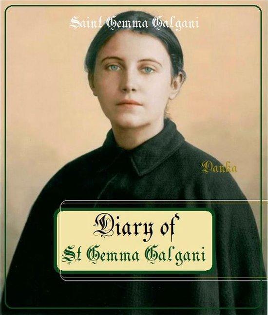 Boek cover Diary of St Gemma Galgani van Saint Gemma Galgani (Onbekend)
