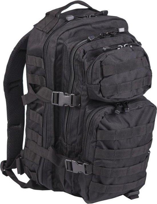 Miltec Backpack US Assault Molle Large -Zwart
