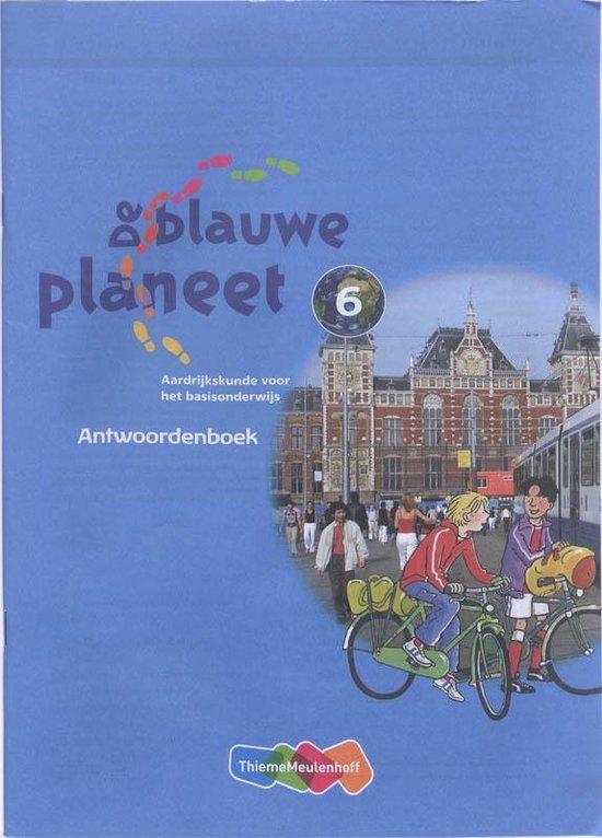 De Blauwe Planeet Groep 6 Antwoordenboek - Roger Baltus  