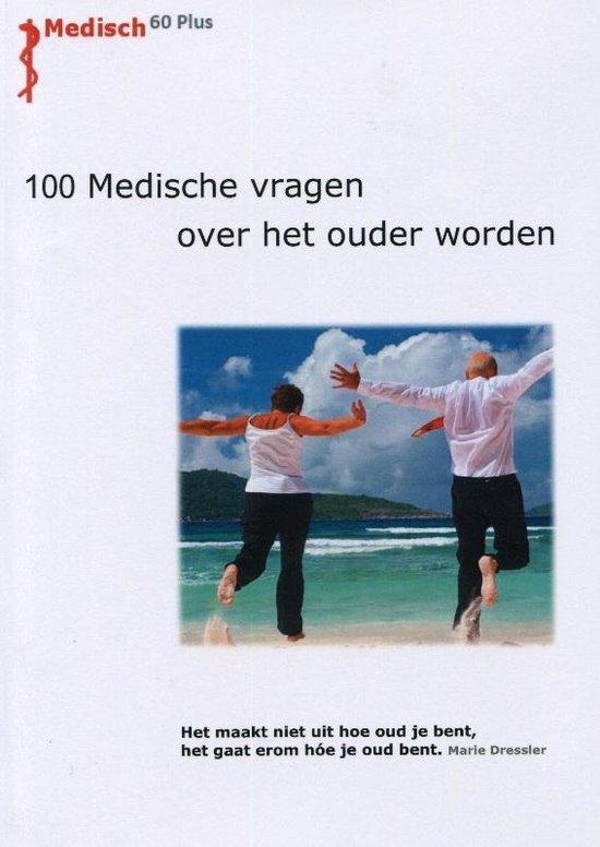 Cover van het boek '100 Medische vragen over het ouder worden' van Jan van Ingen Schenau