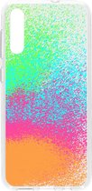 Design Backcover voor de Samsung Galaxy A50 - Splatter Color