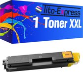 PlatinumSerie® toner XXL yellow alternatief voor Kyocera Mita TK-580-4.000 pagina 's