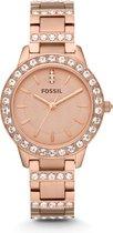 Fossil Rosékleurig Vrouwen Horloge ES3020
