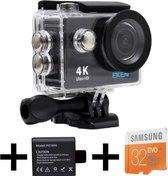 EKEN H9R 4K Ultra HD waterproof action Camera met
