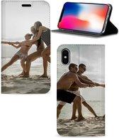 Bookcase iPhone X | Xs Stand Case Hoesje Maken met Foto's