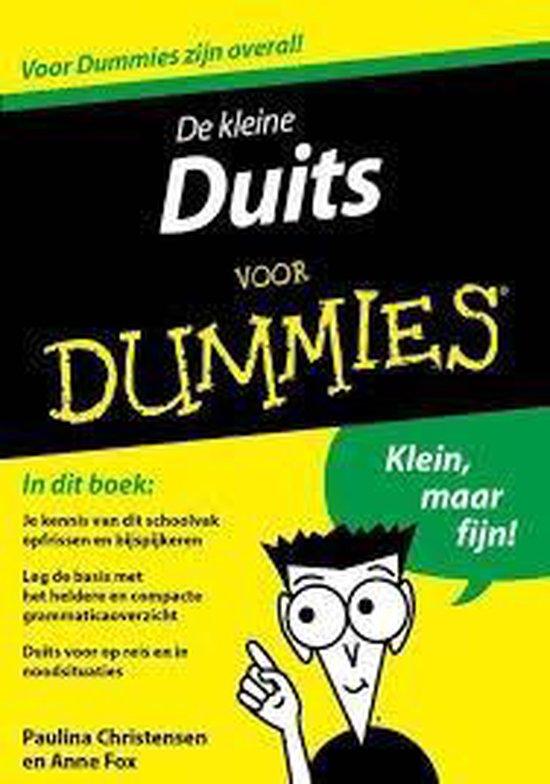 Voor Dummies - De kleine Duits voor Dummies - Paulina Christensen |