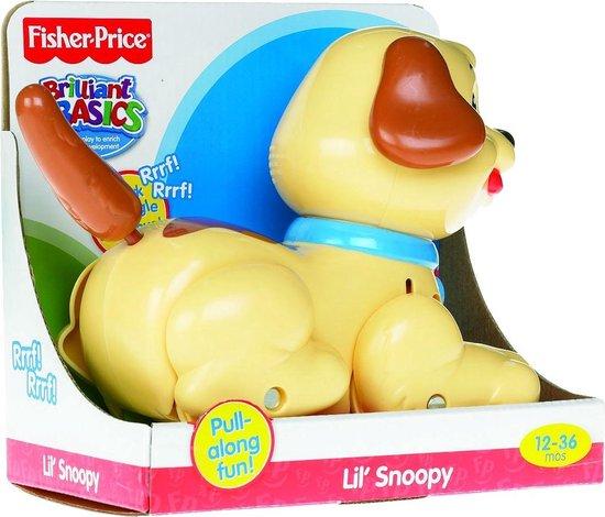 Fisher-Price Kleine Snoopy - Trekdiertje