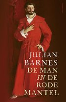 Boek cover De man in de rode mantel van Julian Barnes (Hardcover)